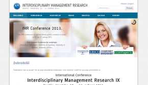 Interdisciplinary Management Research 2013