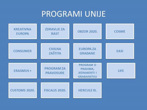 Programi unije