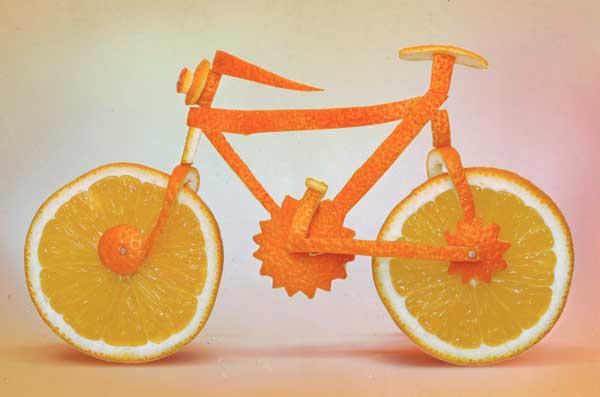 Eko hrana - uređenje bicikl