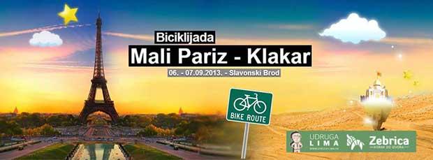 Biciklijada Mali Pariz Klakar
