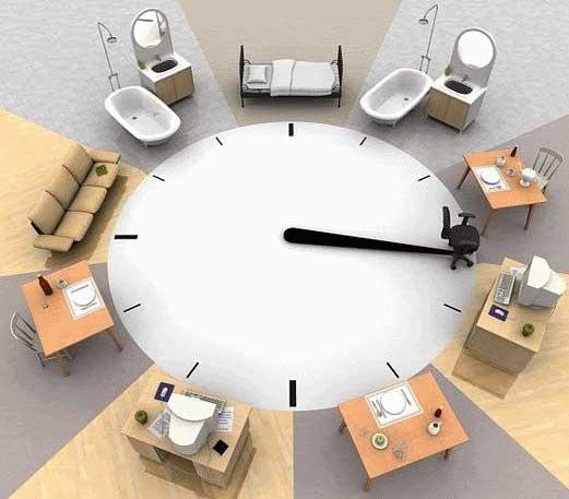 Dnevni ciklus - organizacija vremena